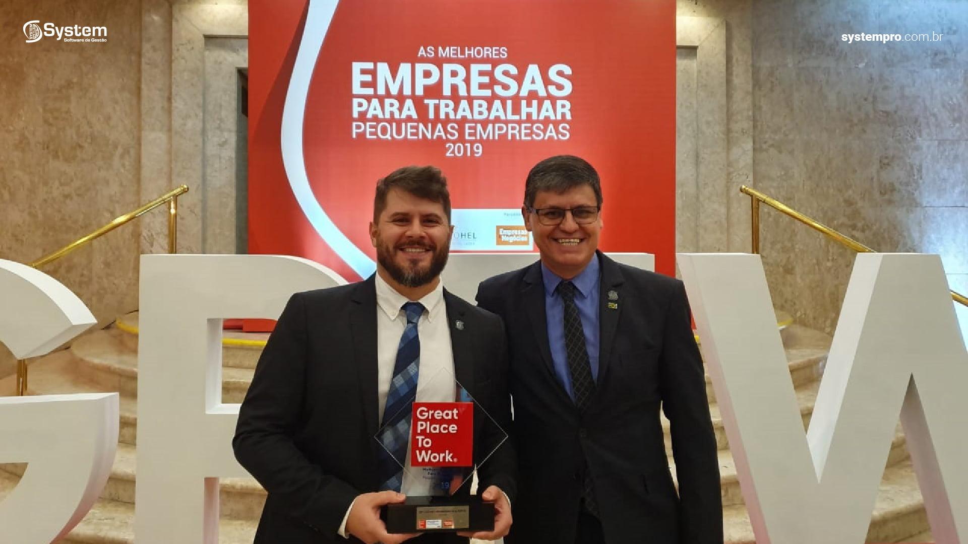 System é premiada como uma das Melhores Empresas para Trabalhar no Brasil