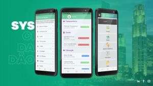 Aplicativo Android e iOS SysCidadão