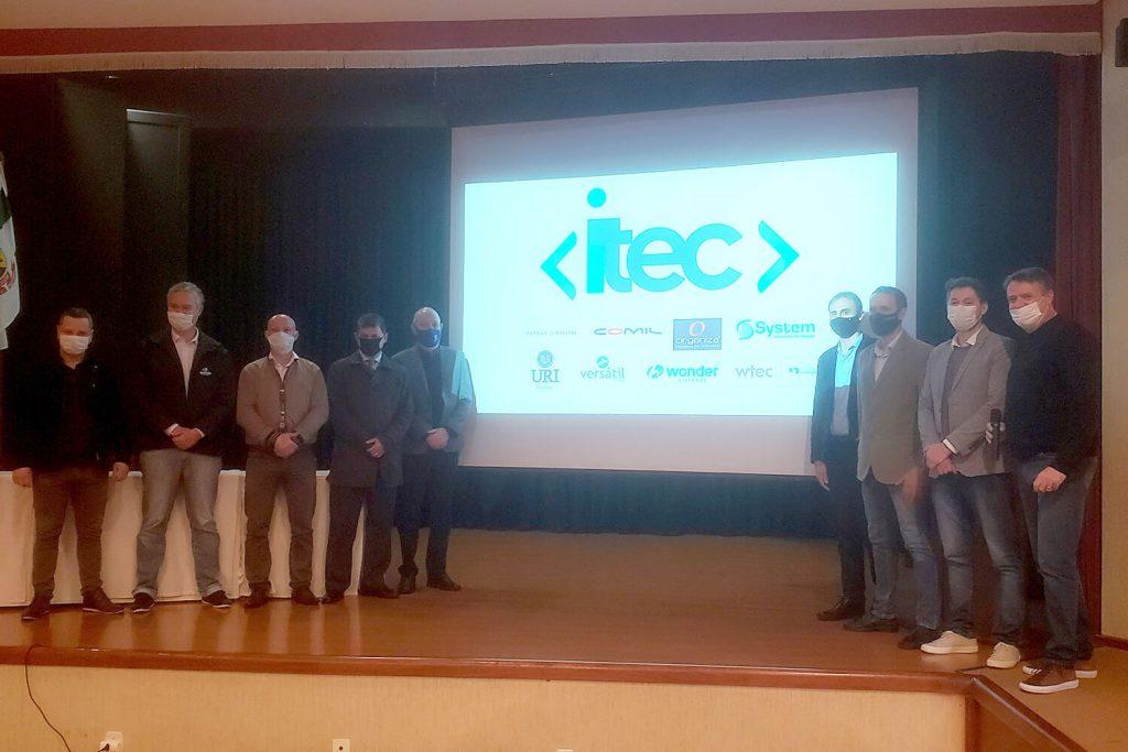 Gestores das organizações que fazem parte do iTEC