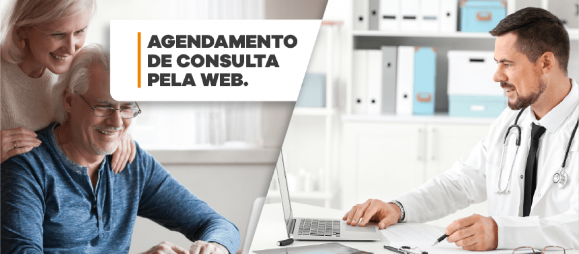 Agendamento de Consulta pela WEB através de Solução da System